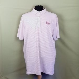 PETER MILLAR Summer Comfort Polo Striped Men's 2XL